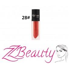 Tekutý dlhotrvajúci rúž Qibest # 28